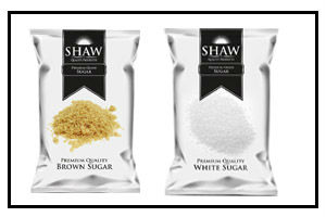 sugar packaging